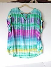 CALVIN KLEIN WOMEN'S BLOUSE PLUS SIZE 1X OR 14W TO 16W