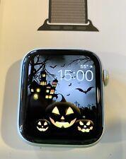 Apple Watch Series 5 44mm Silver Aluminum Case, Anchor Gray Sport Loop + Extras