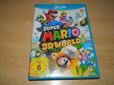 Nintendo Wii U - Super Mario 3D Wörld - USK 6 - sehr guter Zustand
