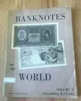 Banknotes of the World Vol. 2 II by George J Sten - Printed 1967