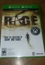 Rage (Microsoft Xbox 360, 2011)! Factory Sealed! 2 Copies Available!