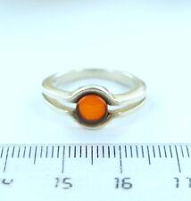 BERNSTEIN RING Bernsteinring Silber 925 Amber