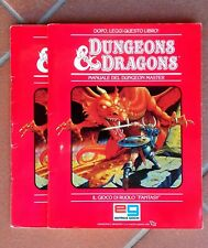 Dungeons & Dragons - D&D REGOLE BASE SET 1 ITA Editrice Giochi RARA!