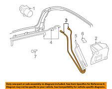 VW VOLKSWAGEN OEM Cabrio Hydraulic-Convertible/soft Top-Pressure Line 1E0871793A