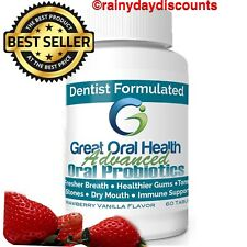Chewable Oral Probiotics For Bad Breath With BLIS K12 & BLIS M18 Oral Probiotic