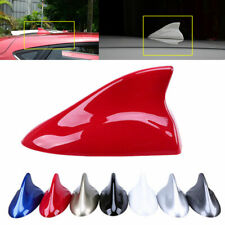Universal Shark Fin Car Roof Antenna Radio Signal Aerial Red for Nissan Holden