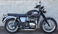 Triumph Bonneville / T100 / Thruxton MassMoto Exhaust Full System 2in1 Trucker