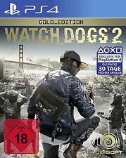 Watch Dogs 2 - Gold Edition Playstation 4 | Season Pass + Deluxe Pack - NEU &OVP