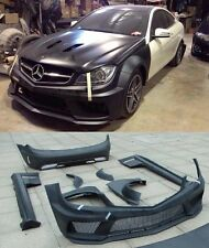 Wide Bodykit Black Series AMG for Mercedes Benz C63 class W204 coupe 2011 -2014