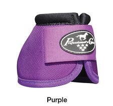 Purple Professional's Choice Ballistic No Turn Overreach Bell Boots M Prof Pro