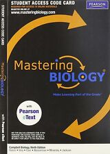 Mastering Biology Code works for Campbell Biology 10th + Mastering.