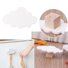 Cute Cloud Hooks Wooden Clothes Hanger Wall Decor Children Bedroom Pendant