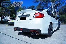 Rexpeed Style Duckbill Trunk Spoiler For MY14-19 Subaru WRX STI K1X Pearl White