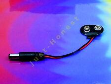 Adaptador 9v batería clip - > dc 2.1mm Jack Arduino Battery motocicleta #a531