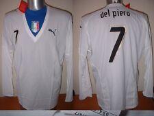 Italy Italia DEL PIERO BNWT Shirt Puma XL Juventus Player Spec Jersey Soccer L/S