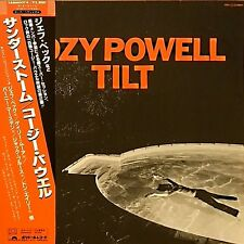 "COZY POWELL ""Tilt"" with OBI 1981 JAPAN"