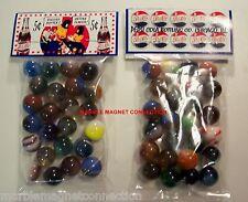 2 BAGS OF PEPSI - COLA SODA PEPSI COPS CHICAGO ILL. ADVERTISING PROMO MARBLES