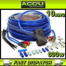 CELSUS cnk10 600 WATT 10 Awg Gauge Auto completo Amplificatore Kit di cablaggio