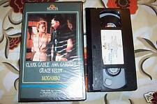 [4109] Mogambo (1953) VHS Gable Gardner rara