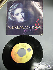 MADONNA LIVE  TO TELL 45 RPM  SIRE LABEL  7-28717  VG