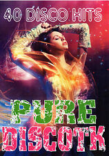 PURE DISCOTK 40 DISCO HITS MUSIC VIDEOS DVD DANCE TECHNO DISCO 90'S OLDIES VIDEO
