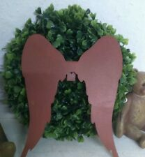 Angel Wings for Hanging up Christmas Advent Decor Metal Garden