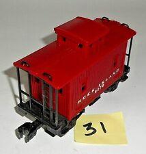 VINTAGE LIONEL O GAUGE ROCK ISLAND 9078 RED SHORT CABOOSE CAR VERY GOOD 31