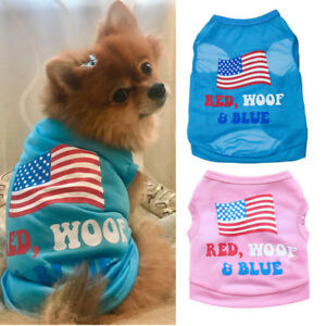 Small Dog Clothes Puppy T Shirt Pet Cat Apparel Clothing Vest for yorkie maltese