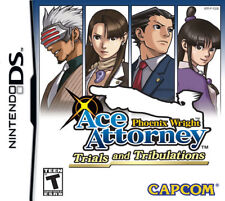 Phoenix Wright Trials and Tribulations NDS New Nintendo DS