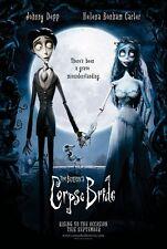 Tim Burton THE CORPSE BRIDE Johnny Depp Original Double Sided Movie Poster