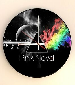 Pink Floyd - 12' Vinyl Record Picture Wall Clock - Dark Side of the Moon