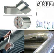 10 X Aluminium Silver Foil Tape Insulation Heating Duct 50mm x 20m AU 2018