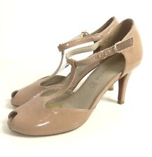 Tamaris 1 24421 31 Damen Schuhe Pumps T Steg Plateau, Schuhgröße:39 EU, Farbe:Schwarz