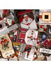 Calgary Flames HOME TEAM HOT PACK!!!  2 Auto + 2 GUJ + 2 #'d RC's +++ (31)