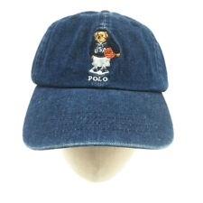 Baseball Cap Embroidery Basketball Bear Denim Vintage Classic Adjustable Soccer