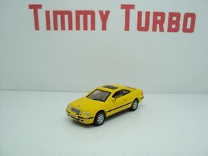 MERCEDES BENZ CLK IN YELLOW  1:72 HONGWELL 65 MM LONG 21