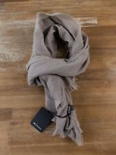 KITON Napoli beige lightweight 100% cashmere scarf authentic - NWT