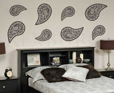 Paisley Pattern Large Wall Decal Vinyl Sticker Art Decor Decoration Mural G31