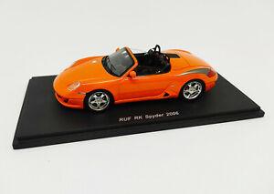 SPARK 1:43 - S0712 Porsche Ruf RK Spyder 2006 Orange Neuf