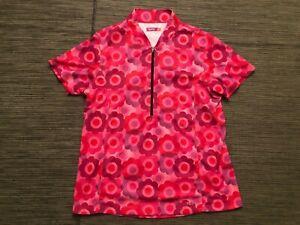 Terry Womens XL 1/2 Half Zip Pullover Cycling Jersey Short Sleeve