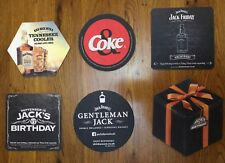 Beer Mats x 2 Different Jack Daniel/'s Fire Coasters