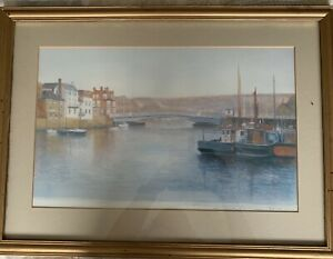 Whitby Harbour Watercolours