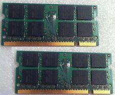 Macbook 13 a1181 2007 2330 RAM Memory Used DDR2 PC2 2 X 1 GB = 2 GB 2GB