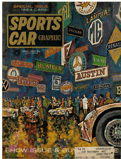 Sports Car Graphic April 1964-Vol 3 #12-Ferrari-Import Guide Mercedes Benz 230SL