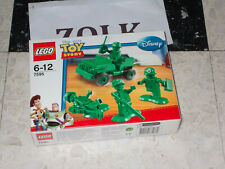 LEGO 7595 TOY STORY MILITAIRES JEEP WILLYS JAMAIS OUVERT NEUF SCELLE 4 figurine