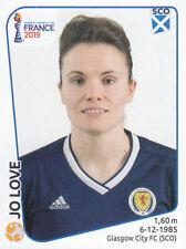 Panini - FIFA Women's World Cup France 2019 - Jo Love - Scotland - # 282