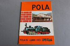 X395 POLA Train CatalogueHo N quick maxi 1983 66 pages 29,7 x 20,8 cm F Angl D