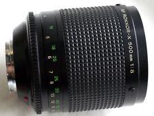 MINOLTA RF ROKKOR-X 500mm f8 MIRROR REFLEX for MIRRORLESS CAMERAS JAPAN