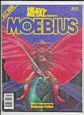 Heavy Metal Magazine Presents Moebius 1981 Spec Fellini SC 96 pp FN 1977 Series