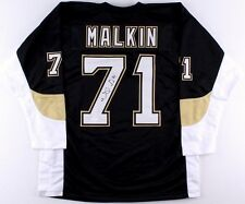 96327beb6 Evgeni Malkin Signed Pittsburgh Penguins Jersey (JSA COA) All Star Center